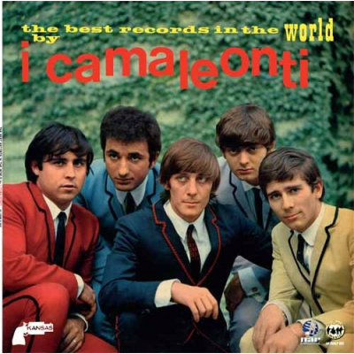 I Camaleonti - The best records in the world by I Camaleonti (long playing)