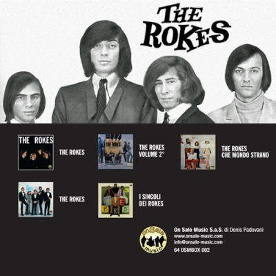 The Rokes - Discografia in Italia